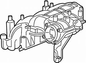 Gmc Acadia Engine Intake Manifold  3 6 Liter  3 6l  Acadia