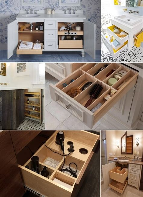 clever bathroom storage ideas clever bathroom vanity storage ideas