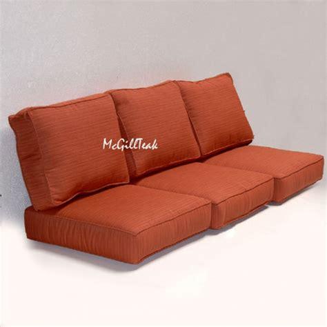 sofa seat cushions for sale deep seating sofa cushion sunbrella cushions outdoor chair