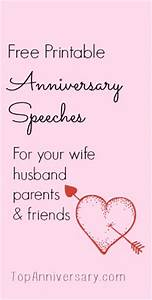 free anniversary speeches for you to print personalize With 60th wedding anniversary toasts for parents