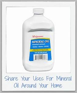 Uses for mineral oil around your home for cleaning more for Homemade furniture polish mineral oil