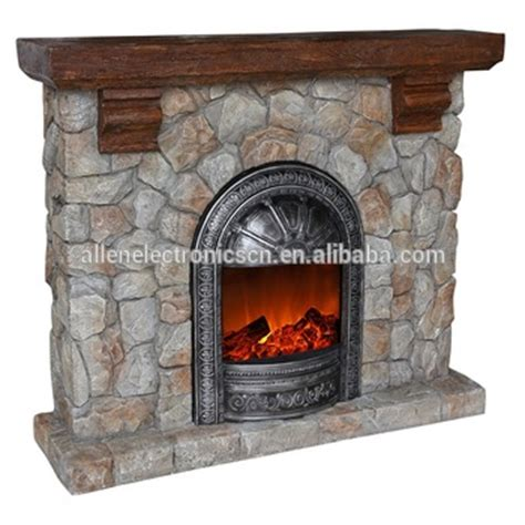 stacked electric fireplace polystone stacked free standing electric fireplace