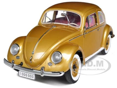 gold volkswagen beetle 1955 volkswagen beetle kafer gold quot the one millionth quot car