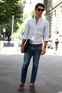 Great white shirt and blue jeans. Who can go wrong? | MY SWAG | Pinterest | Classic white shirt ...