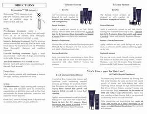 Monat Haircare Instructions       Melaniekeeling Mymonat