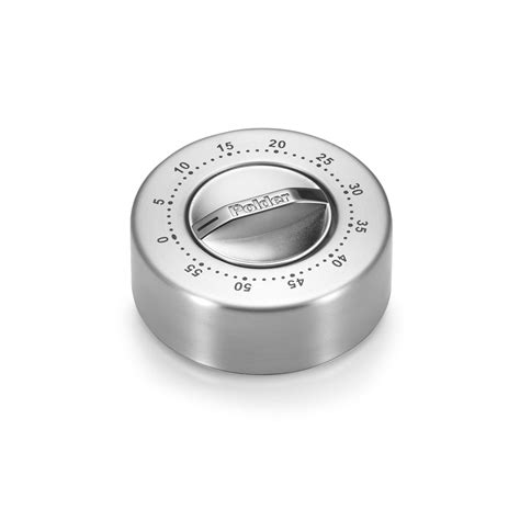 polder stainless steel  minute mechanical kitchen timer cutlery