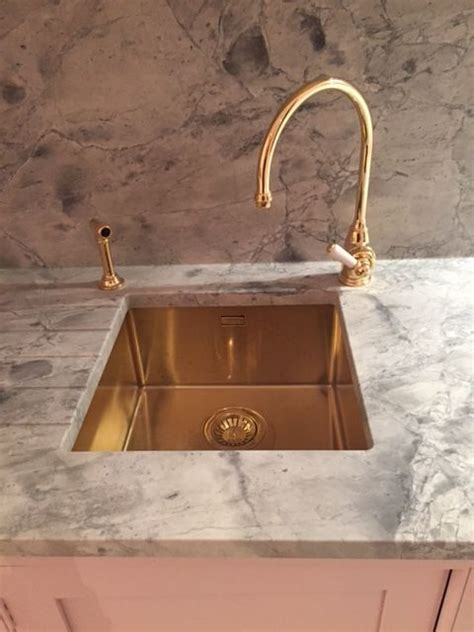 gold bathroom sink alveus monarch quadrix 30 gold flush slim undermount sink 12987