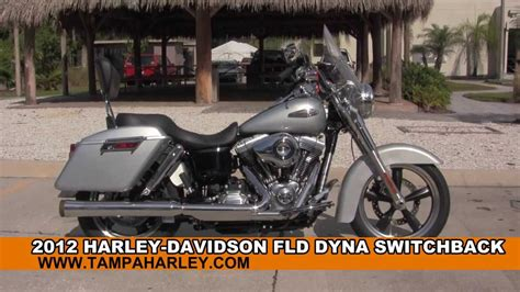 used 2012 harley davidson dyna switchback motorcycles for sale