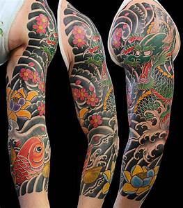120 Japanese Sleeve Tattoos For Men - Masculine Design Ideas