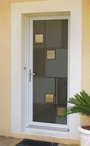 porte entree pvc vitree cobtsacom With pose de porte d entree
