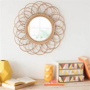 Maison Du Monde Miroir : le grand retour du miroir en rotin les projets fantastiques ~ Teatrodelosmanantiales.com Idées de Décoration