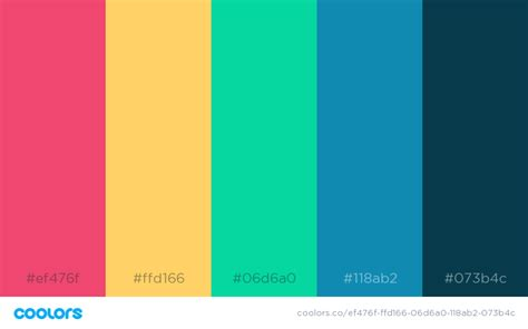 Color Schemes by 34 Beautiful Color Palettes For Your Next Design Project