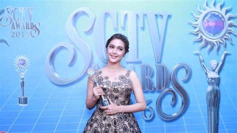 Nabila Syakieb Menang Aktris Utama Paling Ngetop Sctv