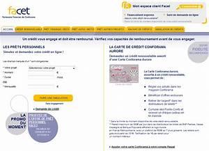 Carte De Credit Conforama : facet credit carte conforama ~ Dailycaller-alerts.com Idées de Décoration
