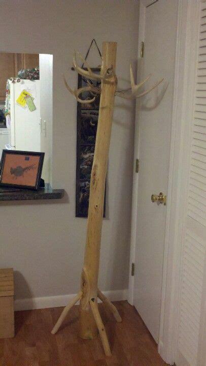 dear antler coat rack log furniture decor home decor