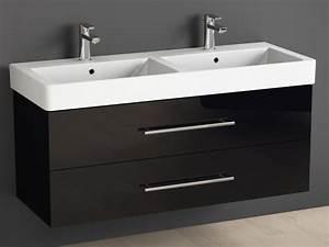 Badmöbel Mit Doppelwaschbecken : badm bel inkl keramik waschtisch und unterschrank 120cm doppelwa ~ Indierocktalk.com Haus und Dekorationen