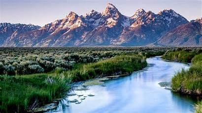 Teton Grand National Park Desktop Tetons Usa