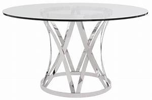 Dining room fabulous round glass top dining table metal for Round glass top coffee table with metal base
