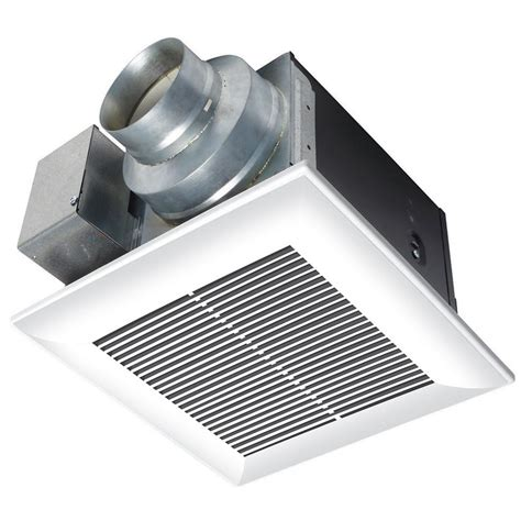 types of bathroom exhaust fans panasonic whisperceiling 80 cfm ceiling exhaust bath fan