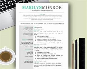 Premium and creative resume templates cover letters for Free dynamic resume templates