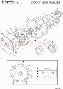 Aston Martin Db7 Vantage Manual Gearbox And Clutch Parts