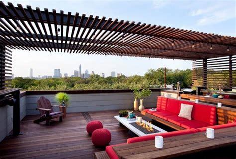 Roof Top Terrace : Impressive Rooftop Terrace Design Ideas
