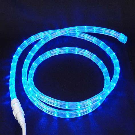 12v Led Rope Light by Custom Cut Blue Low Voltage 12v Led Rope Light Kit 1 2