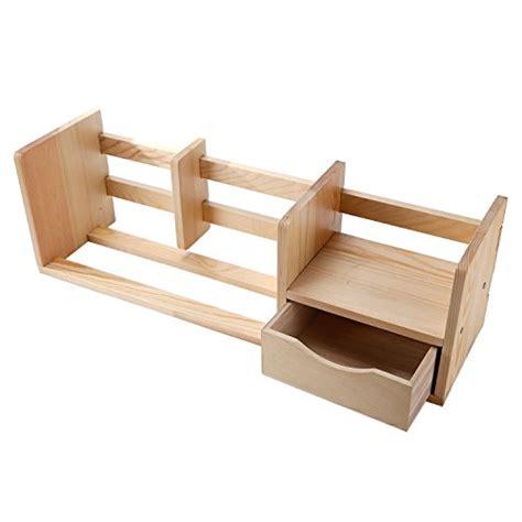 natural wood desk top natural unfinished wood desktop bookshelf organizer