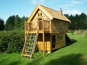 Jeux Exterieur Bois Enfant : cabane de jardin pour enfant jeux en plein air ~ Premium-room.com Idées de Décoration