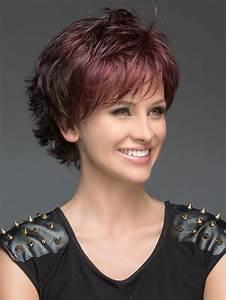 Coiffures Courtes Dégradées : 13x belles coiffures courtes avec couches pour plus de ~ Melissatoandfro.com Idées de Décoration