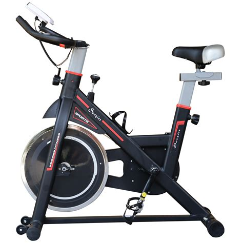 Soozier Indoor Cycling Bike Upright Stationary Exercise ...