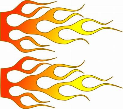 Flame Clip Clipart Racing Flames Vector Drawing