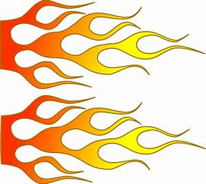 Racing Flame Clip Art at Clker.com - vector clip art ...