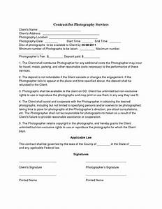 photography contract template non compete agreement With wedding photography contract meal clause