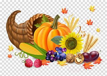 Thanksgiving Clipart Dinner Transparent Still Foods Natural