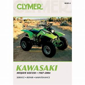 Clymer Kawasaki Mojave Ksf250  1987
