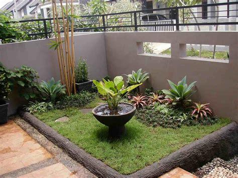 taman minimalis depan rumah sederhana taman
