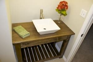 ana white rustic open vanity diy projects