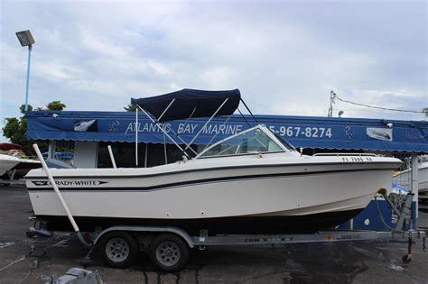 Grady White Tournament Boats by 1993 Used Grady White 225 Tournament Dual Console Boat For