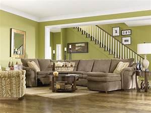 devon 4 piece reclining sectional sofa with las by la z With devon 4 piece sectional sofa