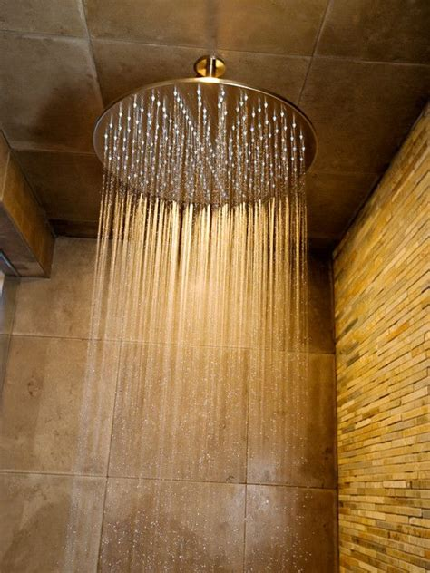 accent walla waterfall shower head