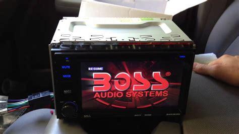 boss audio installation  tutorial  dash double din