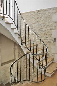 Rampes d'escalier et garde corps en fer forgé Gironde Ferronnerie Hérault