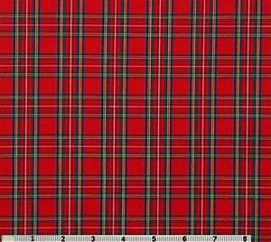 ROYAL STEWART tartan, 65% polyester/35% cotton shirting