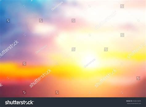 Pastel Gradient Blurred Sunset Background. Sky Soft