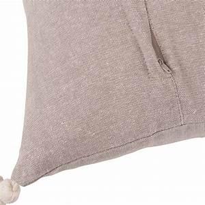Housse De Coussin 40x40 Maison Du Monde : housse de coussin en coton gris imprim lama 40x40 maisons du monde ~ Melissatoandfro.com Idées de Décoration