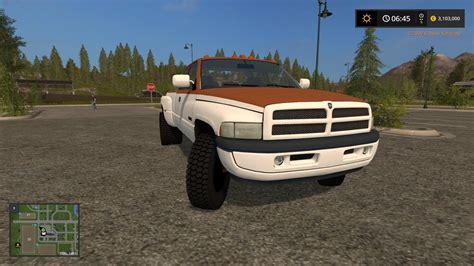 dodge ram work truck  fs farming simulator   mod