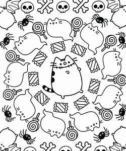 pusheen cat coloring pages - de 1158 b sta coloring bilderna p pinterest