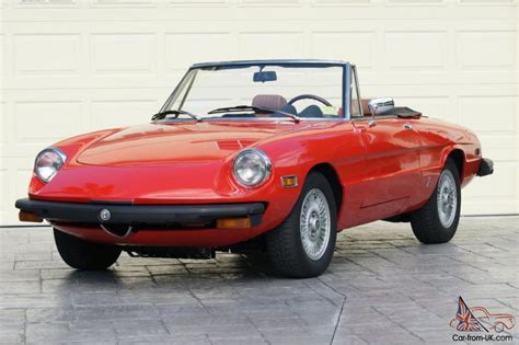 Alfa Romeo Spider 1974 by 1974 Alfa Romeo Spider 2000 Show Car