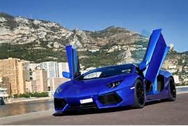 700-4         -                      Blue Lamborghini Reventon Wallpaper